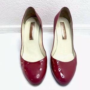 Rupert Sanderson Red Heels Pumps Patent